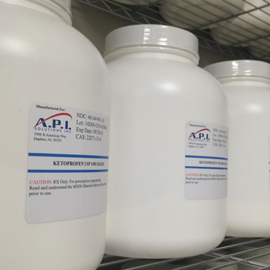 Compounding Chemicals from API Solutions