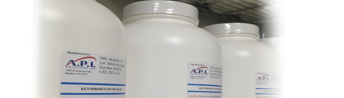 Compounding Chemicals available from API Solutions